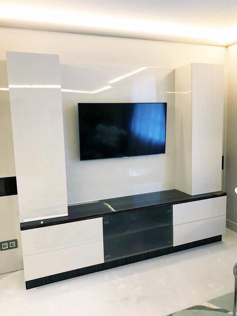 ТВ-зона в гостиной