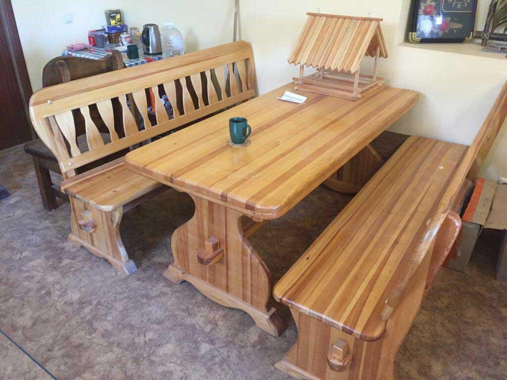 Деревянная мебель для кафе в Сочи