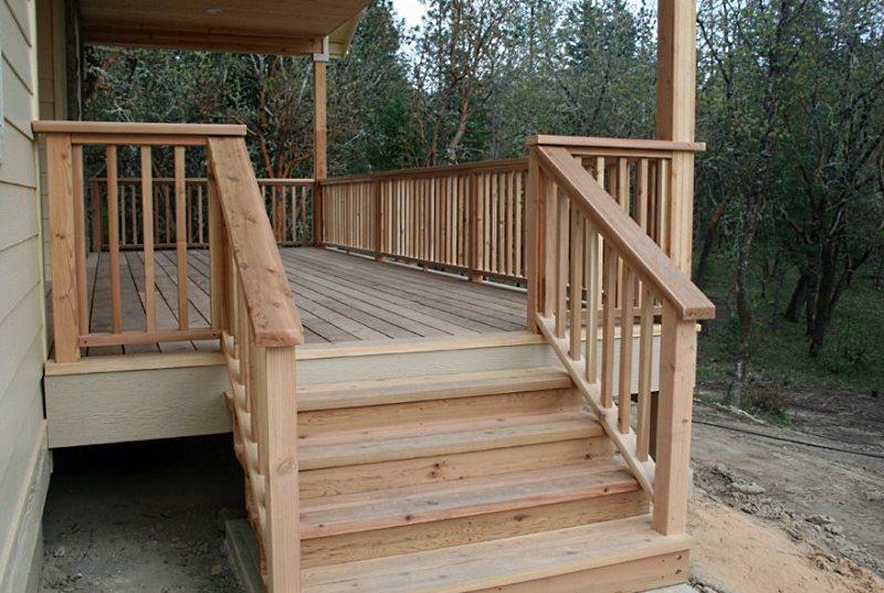 деревянное крыльцо для частного дома
