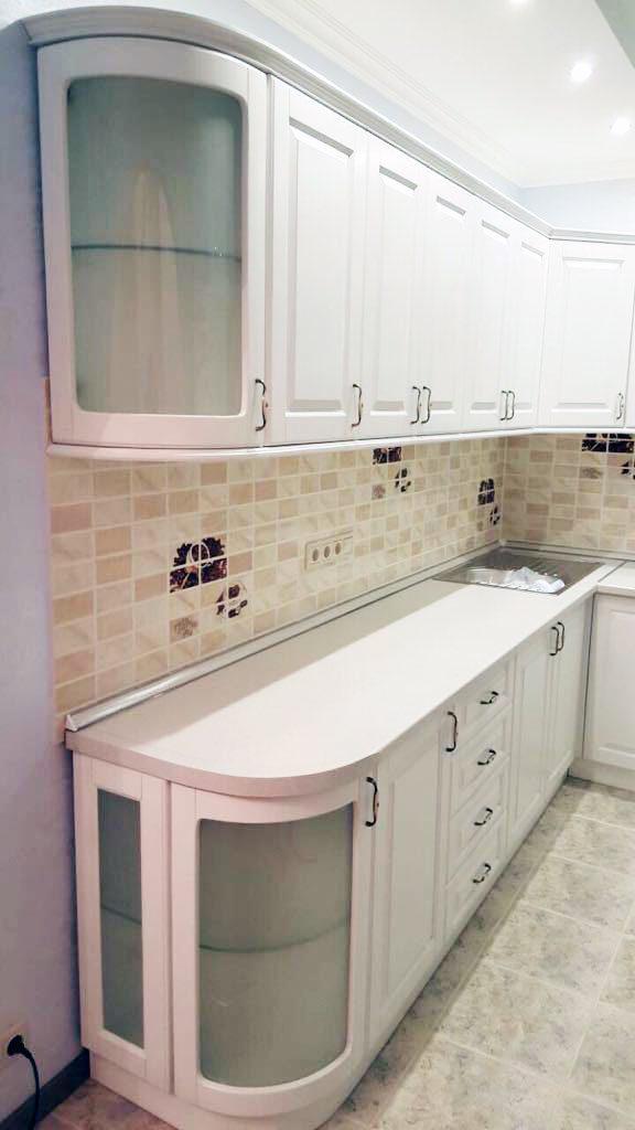 кухня белая в Сочи
