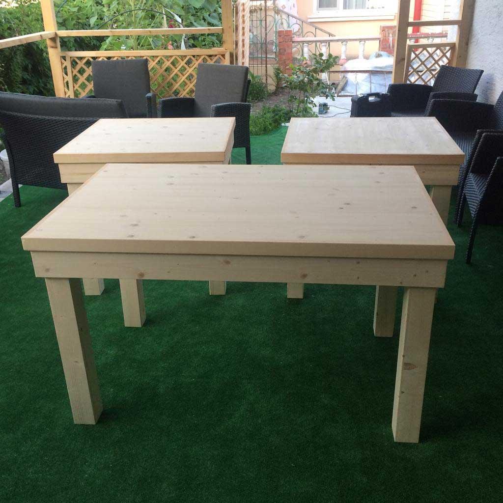 стол деревянный уличный в Сочи