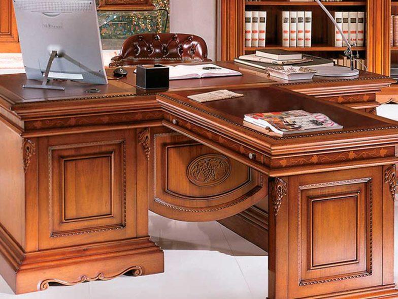 стол из массива в кабинет
